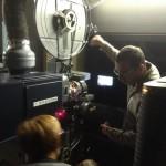 Découverte de la salle de projection